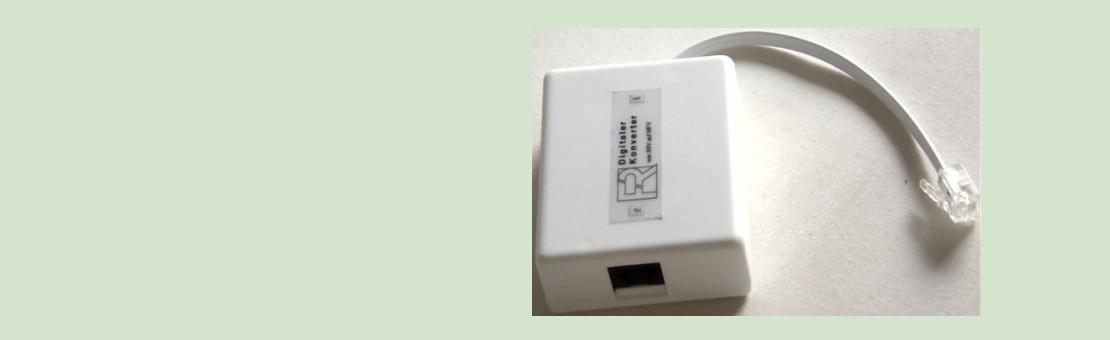 Digitaler Konverter von IWV auf MFV